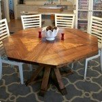 dy octagon dining table