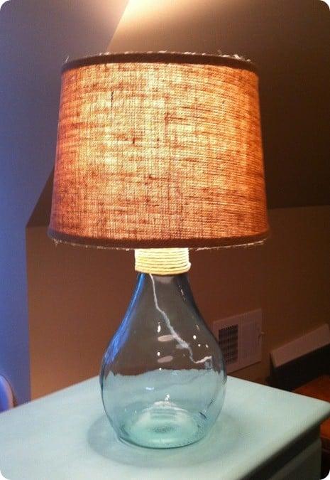 Turn A Vase Into A Coastal Glass Lamp