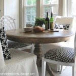 Refinished Weathered Dining Room Table