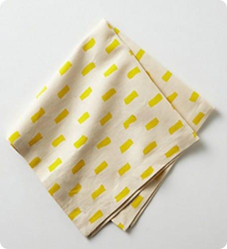 sun stripes napkin