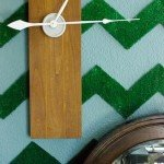 DIY Modern Wood Clock