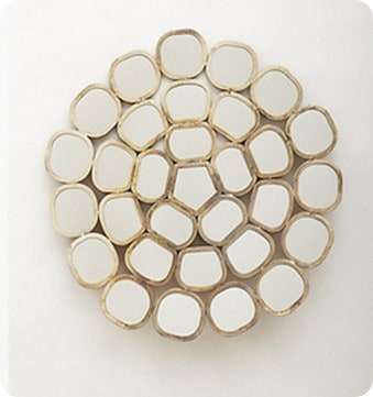 honeycomb ring mirror