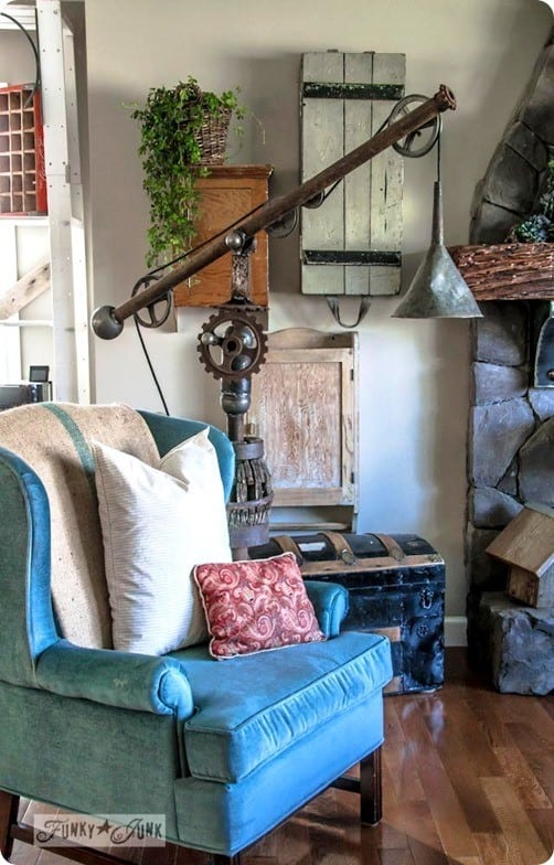 Donna Was Inspired By The Warren Pulley Task Floor Lamp From Pottery Barn.