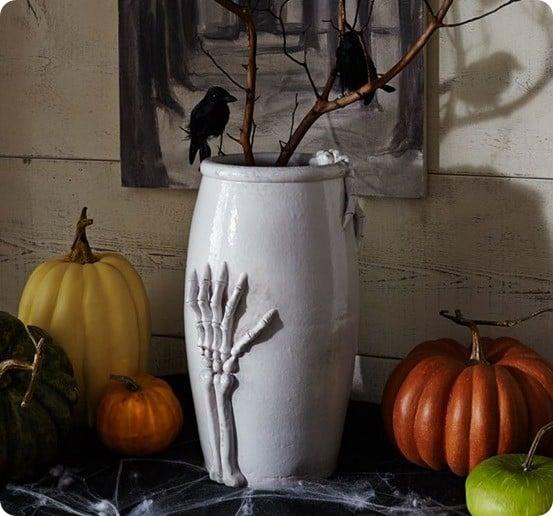 pb bone hand vase