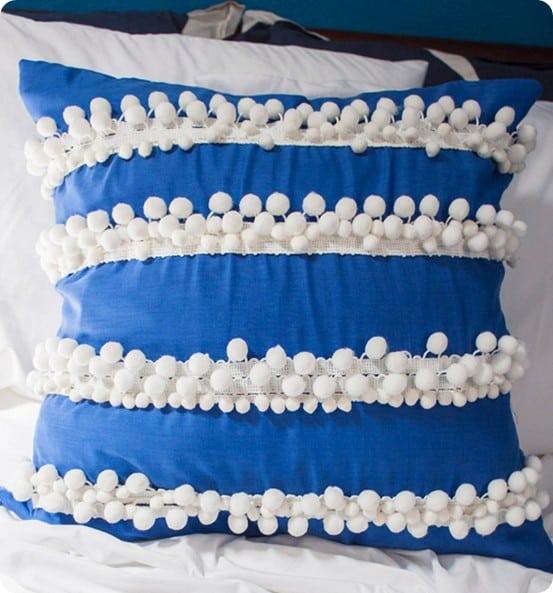 pom pom pillow