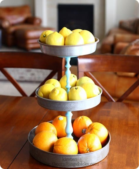 tiered tray stand