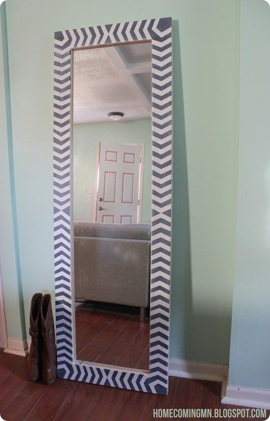 West Elm Inspired Floor Mirror