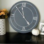Large Clock from Tabletop
