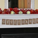 'Give Thanks' Thanksgiving Paper Garland