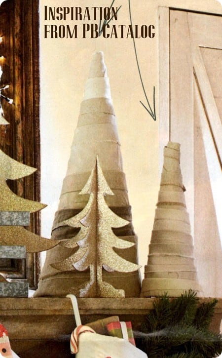 pottery barn fabric christmas tree
