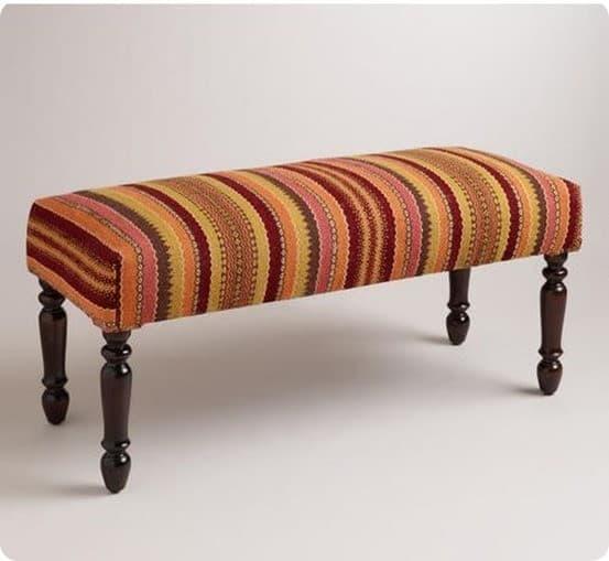 asha kilim bench