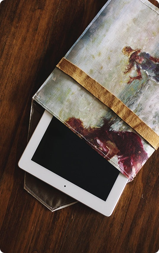 canvas ipad case