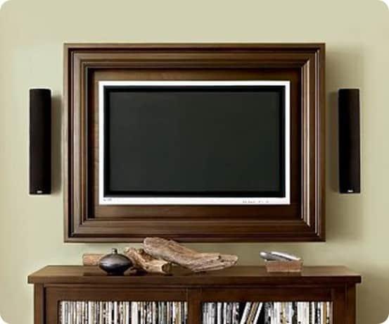 Build Your Own Custom Flat Screen Tv Frame Knockoffdecor Com