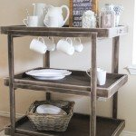 DIY Beverage Cart for the Hostess