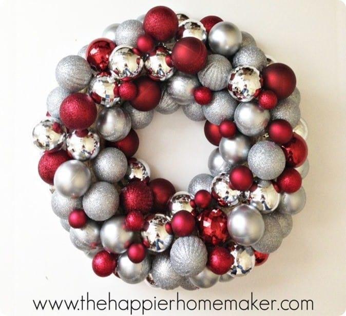 Thirty Minute Ornament Wreath Knockoffdecor Com