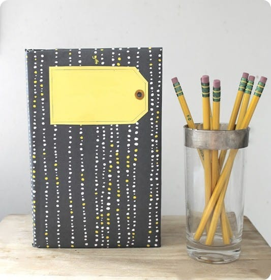 diy patterned moleskine