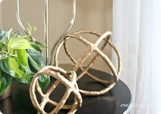 diy sculptural spheres