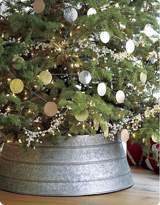 Basket Ring For Christmas Tree