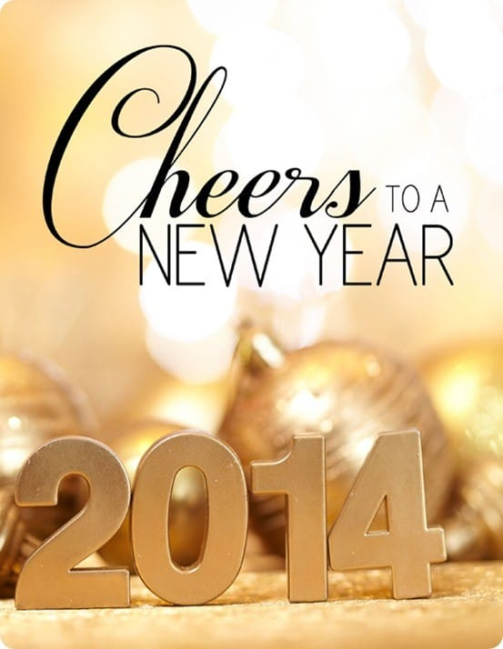 new year 2014 free printable