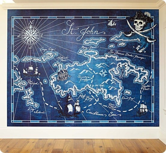 pics photos pirate wall murals by colette pirate theme