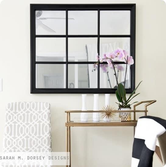 window to mirror