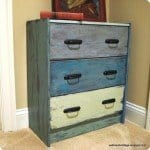 Shabby Chic Painted Dresser