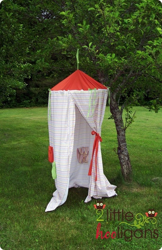 diy kids play canopy