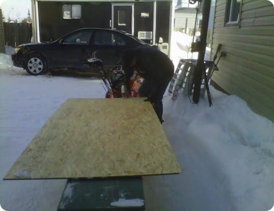 making headboard from plywood