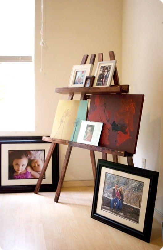 photo display easel