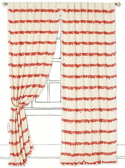swing stripe curtain