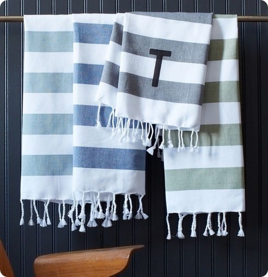 west elm hand towel