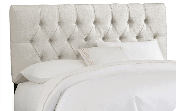 how to make a tufted headboard. we achieved the look of a high end, Headboard designs