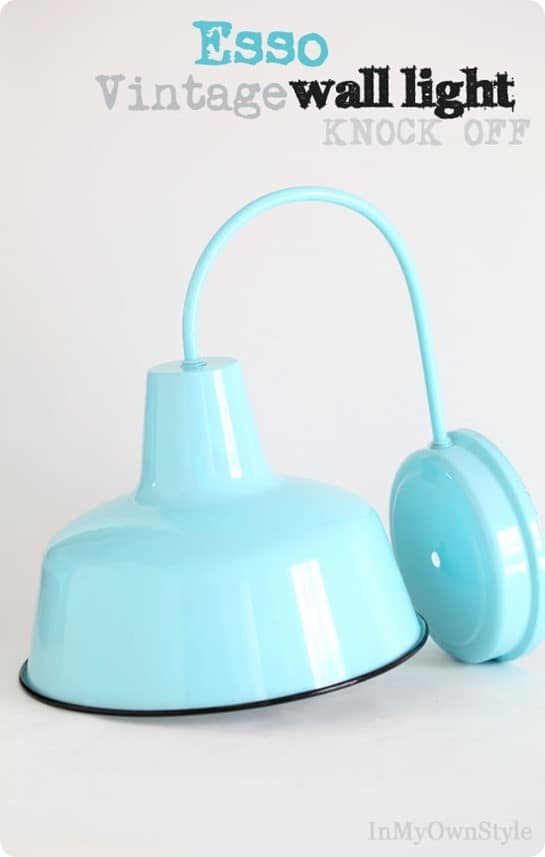 colorful vintage wall sconce light