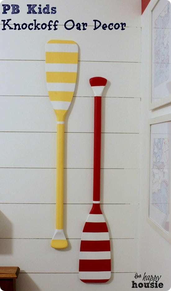 diy oar decor
