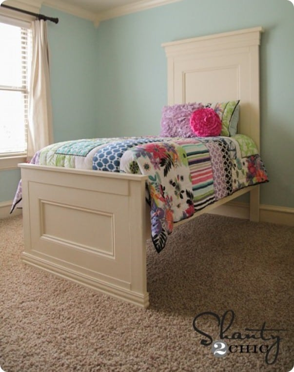 Cool diy twin bed
