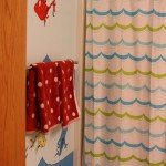 Kids Dr. Seuss Bathroom with Wall Mural