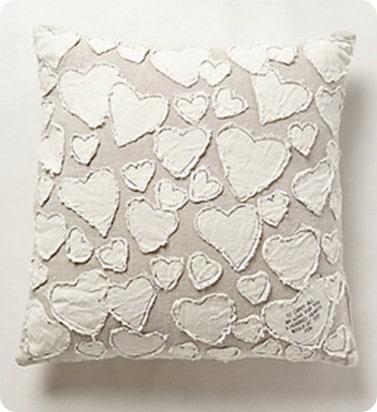 heart collectors pillow