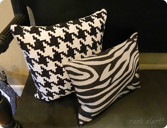 no sew pillow from placemats