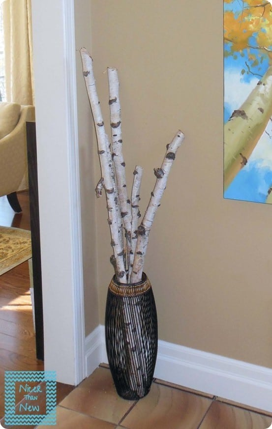 birch tree decor