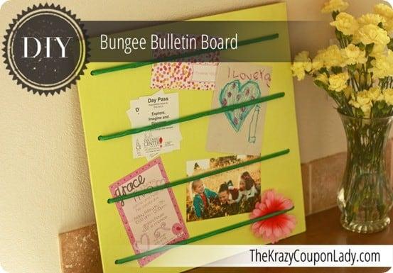 bungee bulletin board