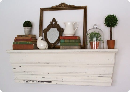 decorative wall ledge
