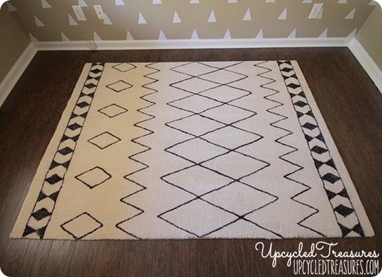 sharpie rug