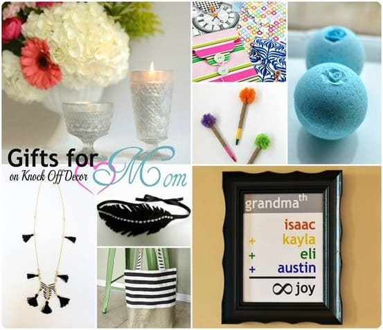 Mother's Day Gifts Collage