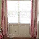 Make Your Own Stripe Curtains from Sheets