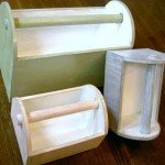 Wooden Storage Caddy Doubles as Easter Basket