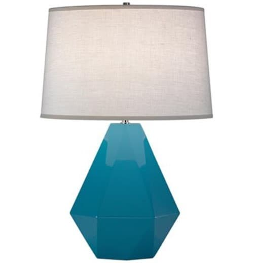 Cool robert abbey delta table lamp