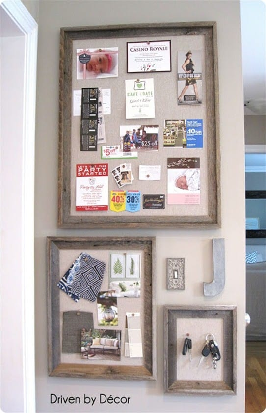 diy linen message boards