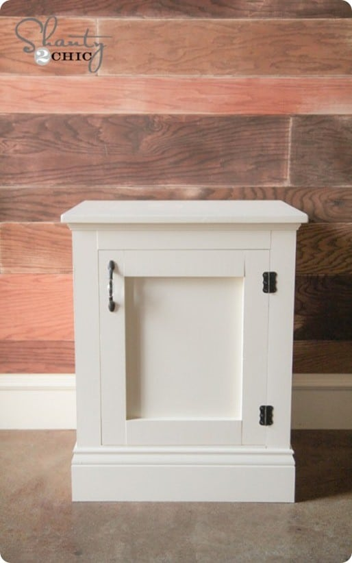 diy nightstand for a girls room
