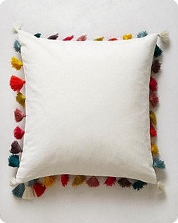 firenze tassel pillow