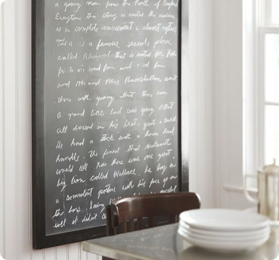 Shabby Chic Framed Chalkboards